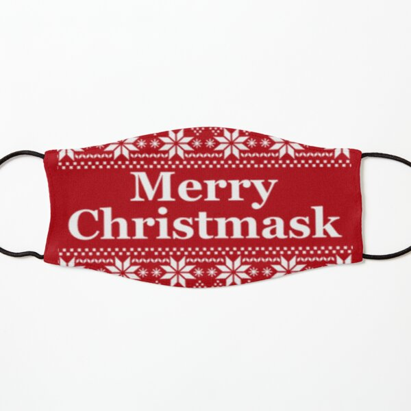 Merry Christmask Christmas Facemask Kids Mask