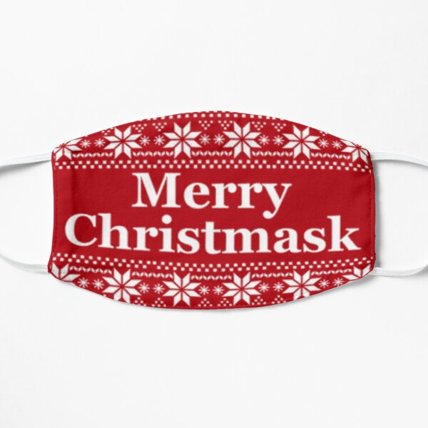 Merry Christmask Christmas Facemask Mask