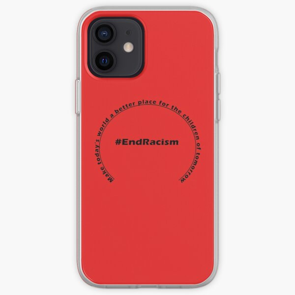 #EndRacism iPhone Soft Case