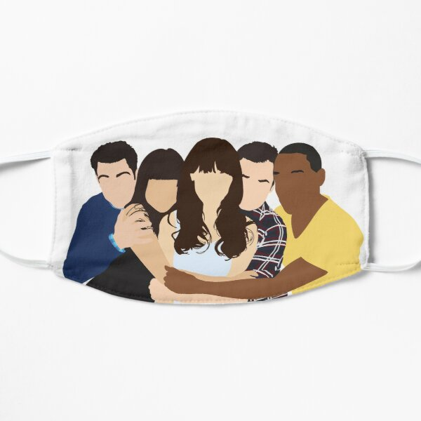 New Girl Cast Mask