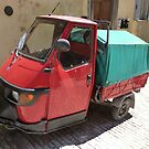 Three-wheeler mini truck by bubblehex08
