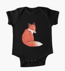 Watercolor Fox Kids Clothes