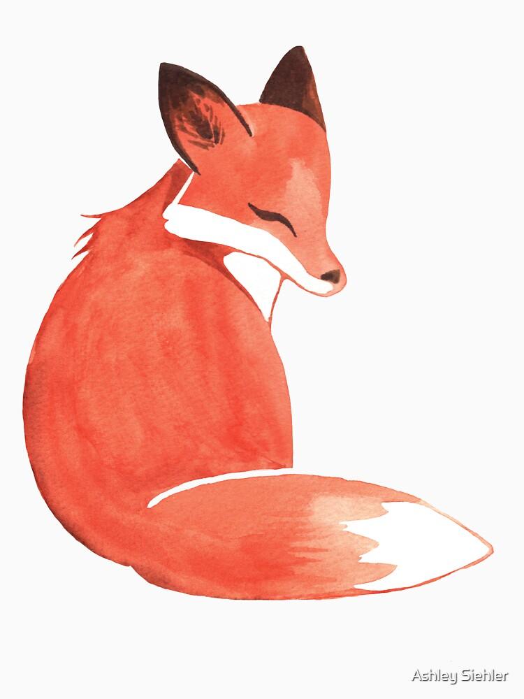 Watercolor Fox | Unisex T-Shirt