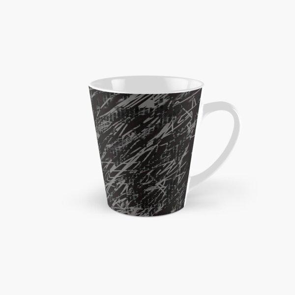 Crazy Pattern stripes grey Tall Mug