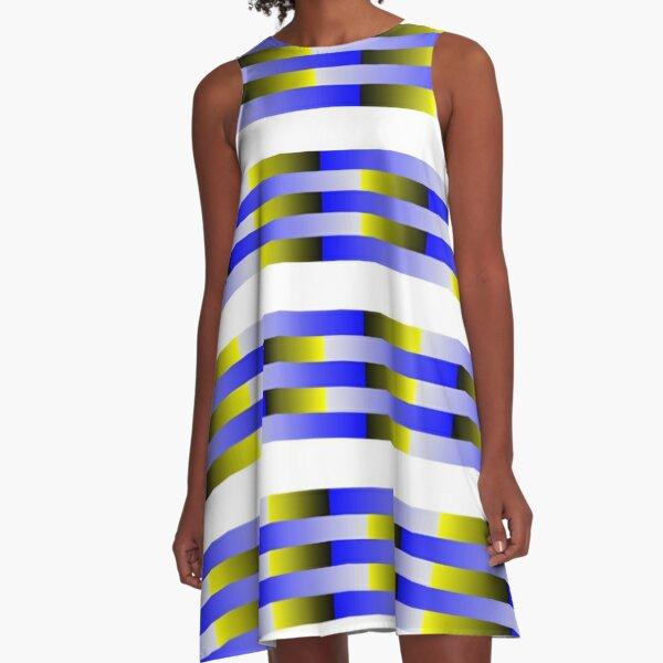 Anomalous motion illusions A-Line Dress