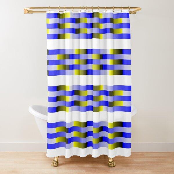 Anomalous motion illusions Shower Curtain