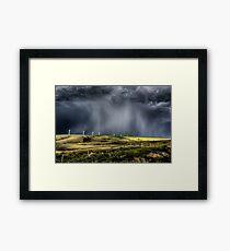 Storm Clouds Saskatchewan Framed Print