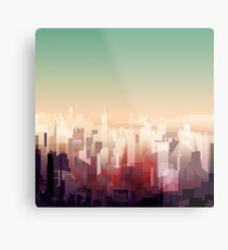 Welcome to NY Metal Print