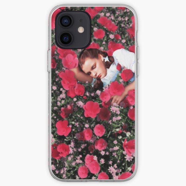 Wizard of Oz Poppies Dorothy Classic Film Vintage Retro Flowers  iPhone Soft Case