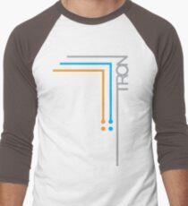 Camiseta ¾ estilo béisbol Tron