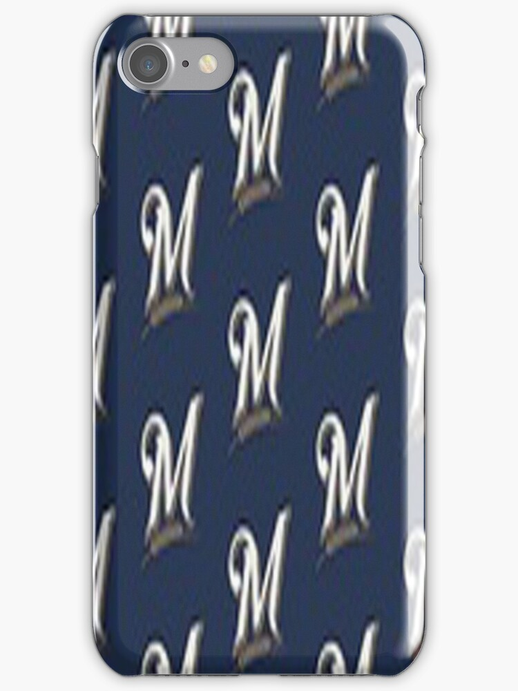 Milwaukee Brewers Logo -iphone case by ksully