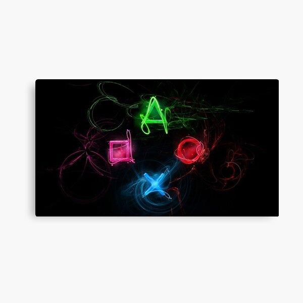 Playstation Leinwanddruck