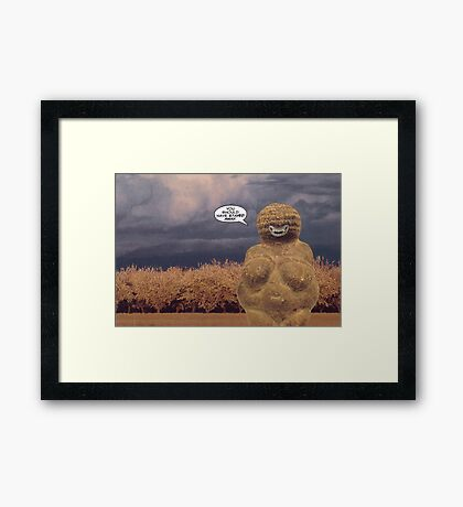 M Blackwell - But I Couldn't Framed Print