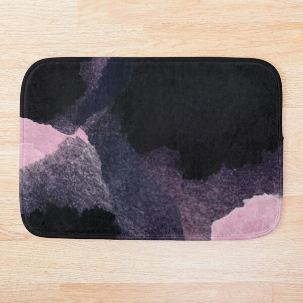Midnight Breaking into Dawn Bath Mat