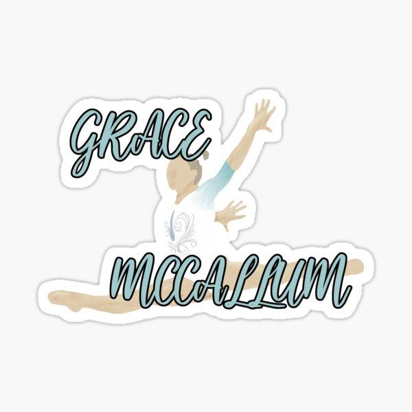 Grace McCallum Art with Name Sticker
