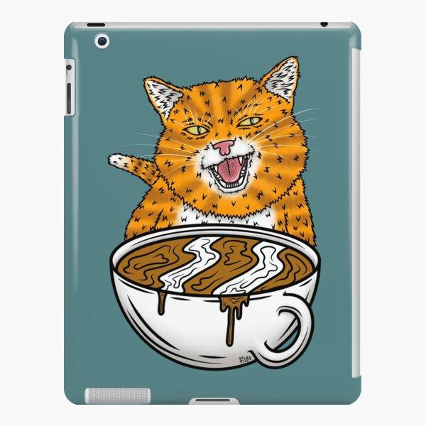 Coffee Cat iPad Snap Case