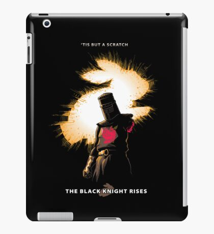 The Black Knight Rises (Text Version) iPad Case/Skin