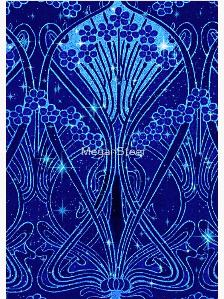 An Art Nouveau Night Sky by MeganSteer