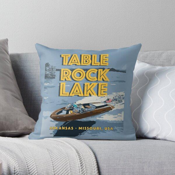 Table Rock Lake, Arkansas, Missouri Throw Pillow