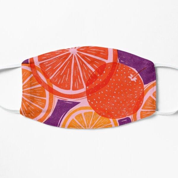 Citrus Woodblock Mask
