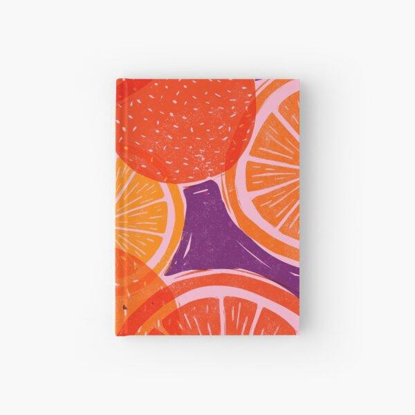 Citrus Woodblock Hardcover Journal