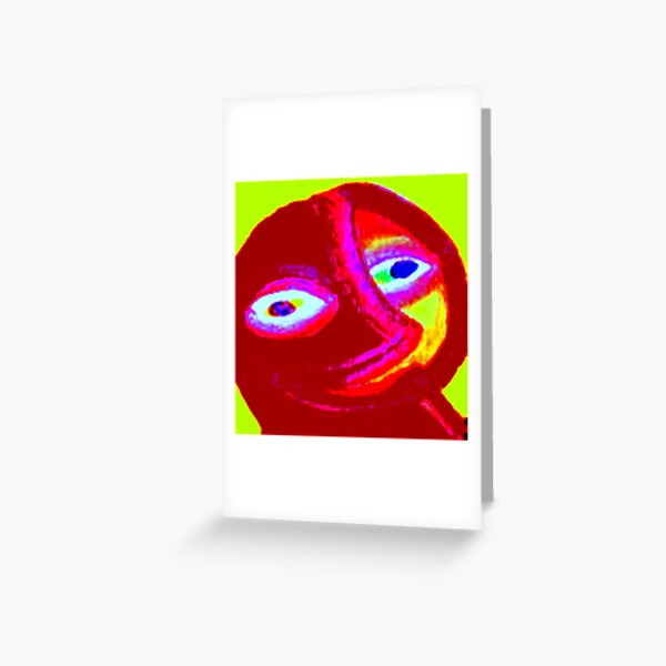 SMILING EARTH Greeting Card