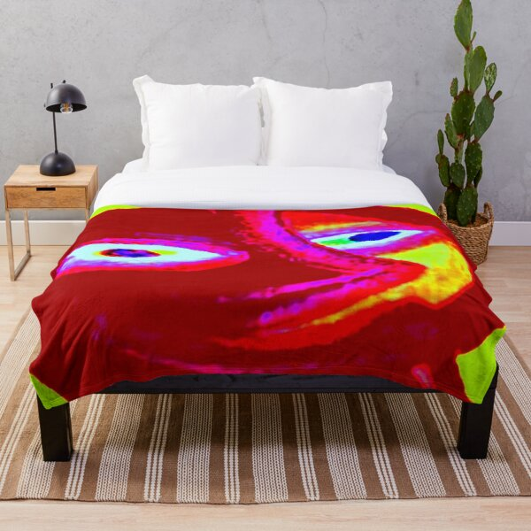SMILING EARTH Throw Blanket