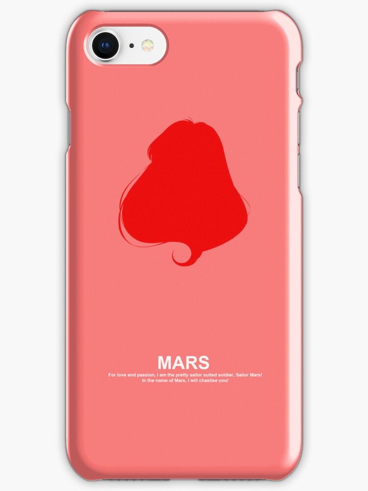 Sailor Mars Case by Oshiokiyo