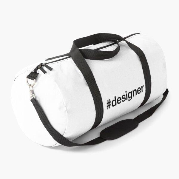DESIGNER Hashtag Duffle Bag