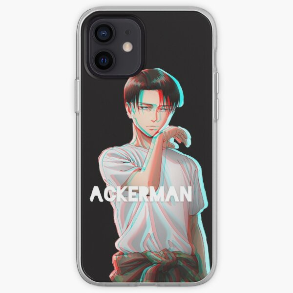 livai ackerman attaque des titans snk Coque souple iPhone