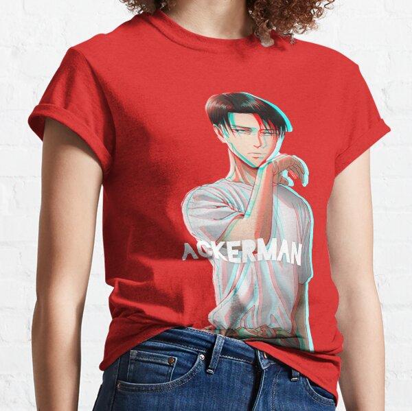 livai ackerman attaque des titans snk T-shirt classique