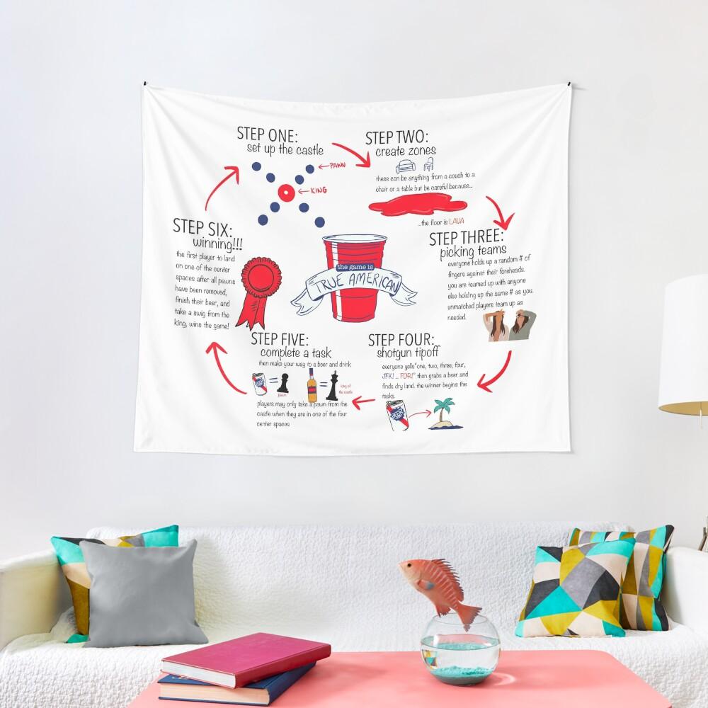 True American Rules Tapestry