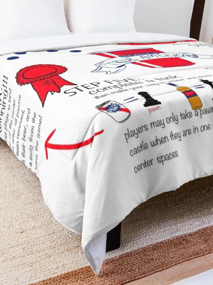 Alternate view of True American Rules Comforter