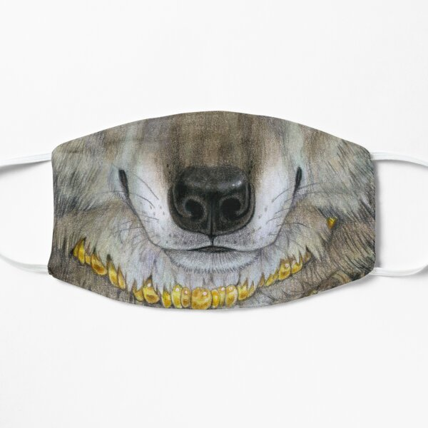 Dire Wolf Nose Flat Mask