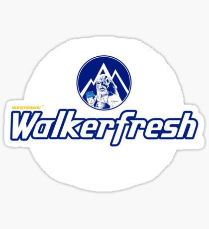 Walker Fresh Sticker