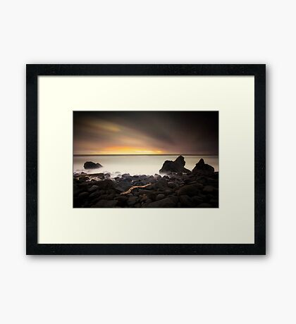 Burleigh Glow Framed Print