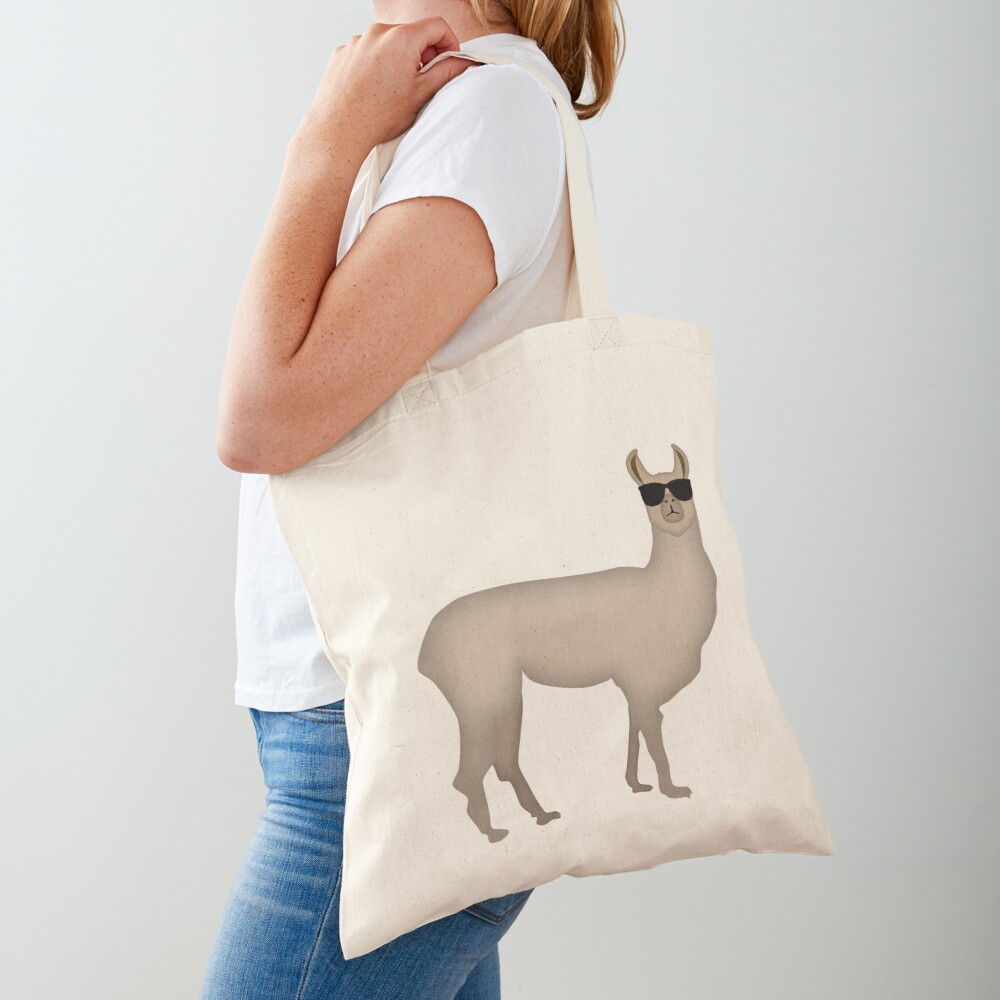 NDVH Llama (shaded) Tote Bag