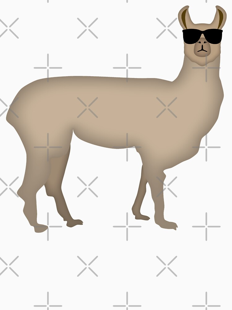 NDVH Llama (shaded) by nikhorne