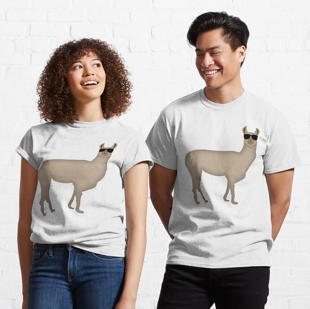 NDVH Llama (shaded) Classic T-Shirt