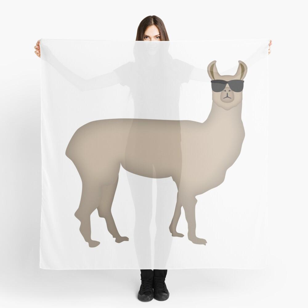 NDVH Llama (shaded) Scarf