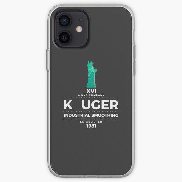 K uger Industrial Smoothing iPhone Soft Case