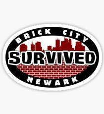 'Newark Survivor' Sticker