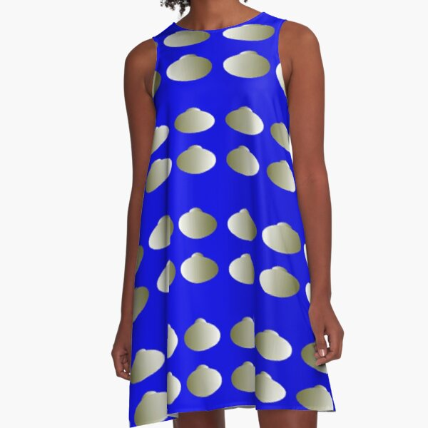 Anomalous motion illusions A-Line Dress