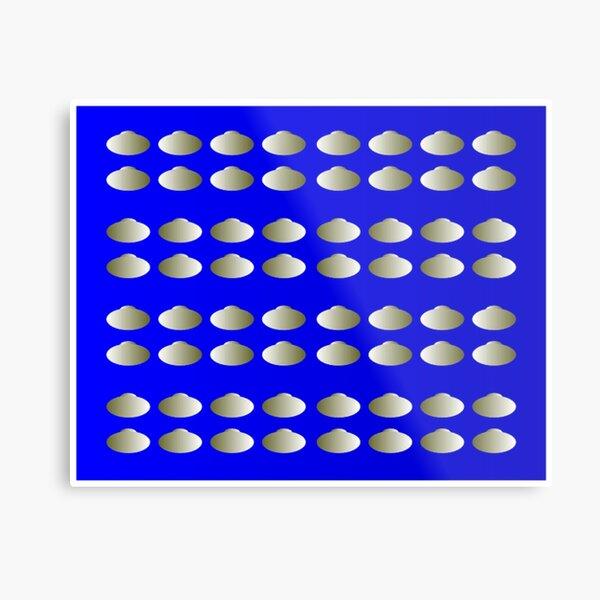 Anomalous motion illusions Metal Print