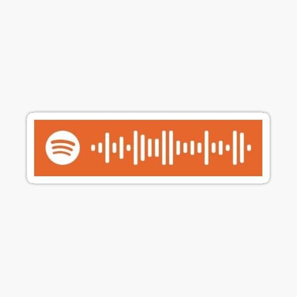 bon iver 22 a million spotify scan Sticker
