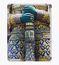 Thai warrior with sword iPad Case/Skin