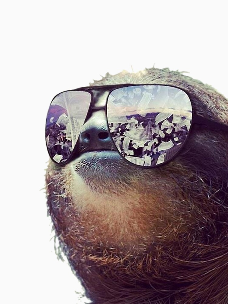 TShirtGifter presents: Cashmoney Sloth w/ sunglasses | Unisex T-Shirt