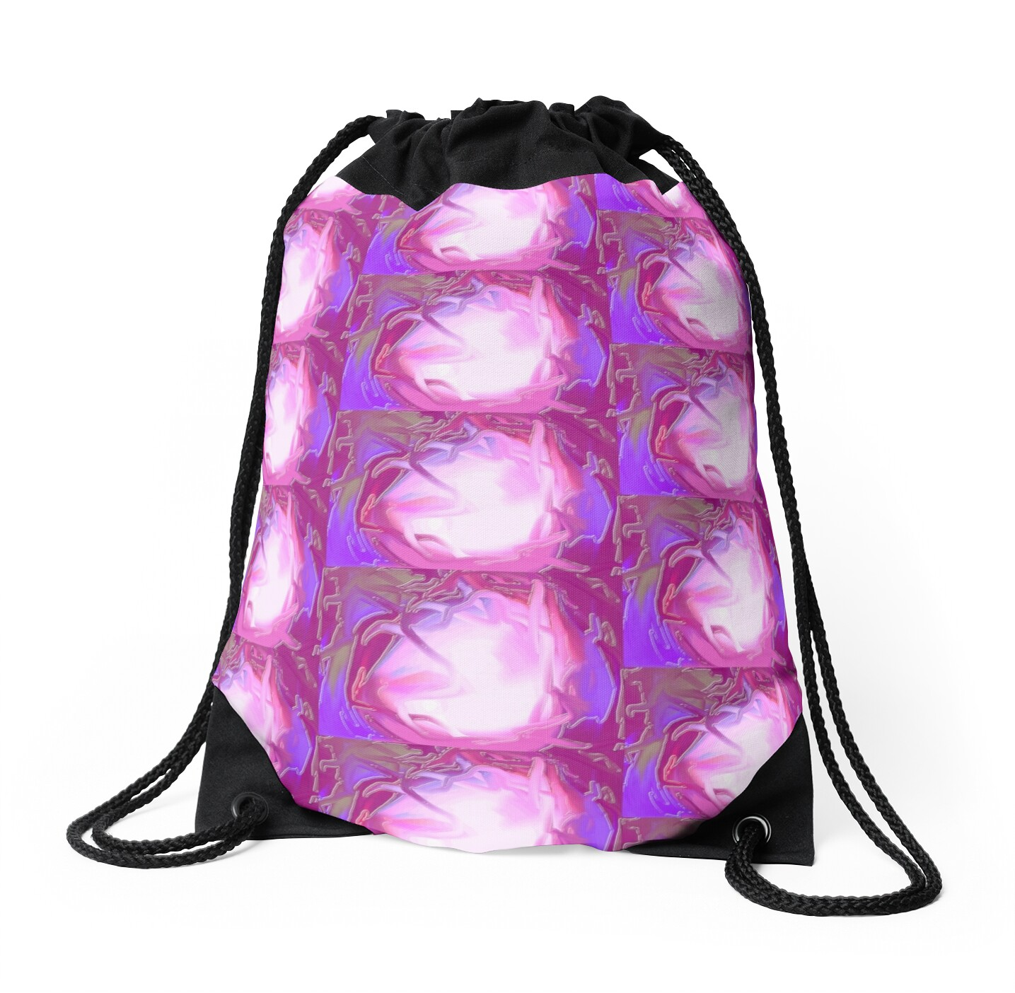 Wall Stickers Perth Quot Purple Swirl Quot Drawstring Bags By Sheree Barber Redbubble