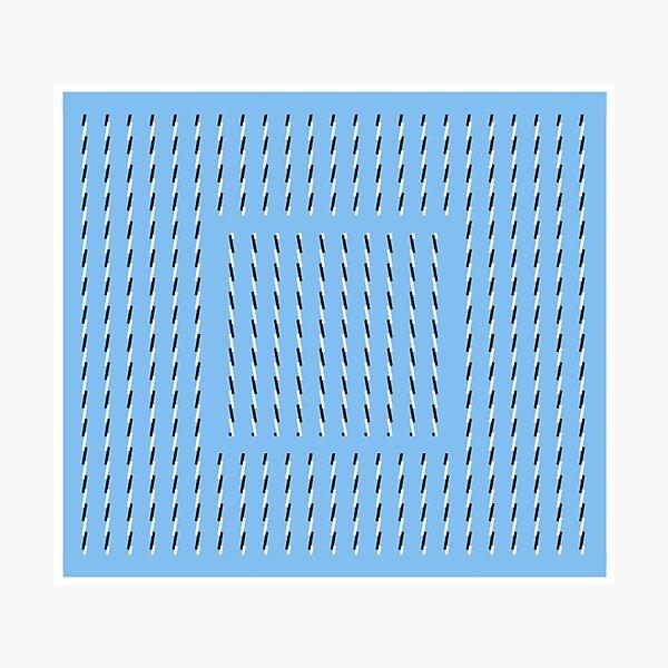 Anomalous motion illusions Photographic Print