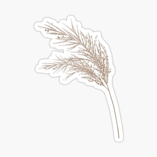 Pampas Grass Sticker